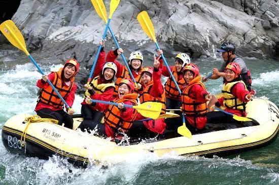 Big Smile Rafting Gifu Nagara River - Day Tours