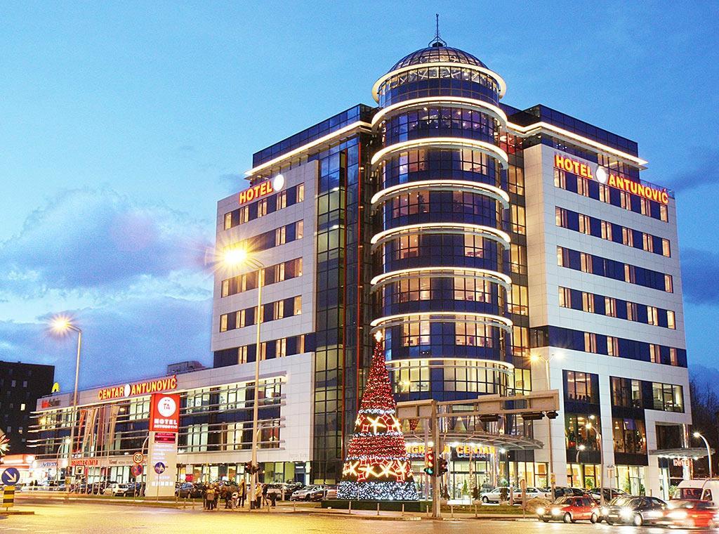 ホテル アントゥノヴィッチ ザグレブ