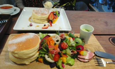 Tsubaki Salon Maruyama Pancake