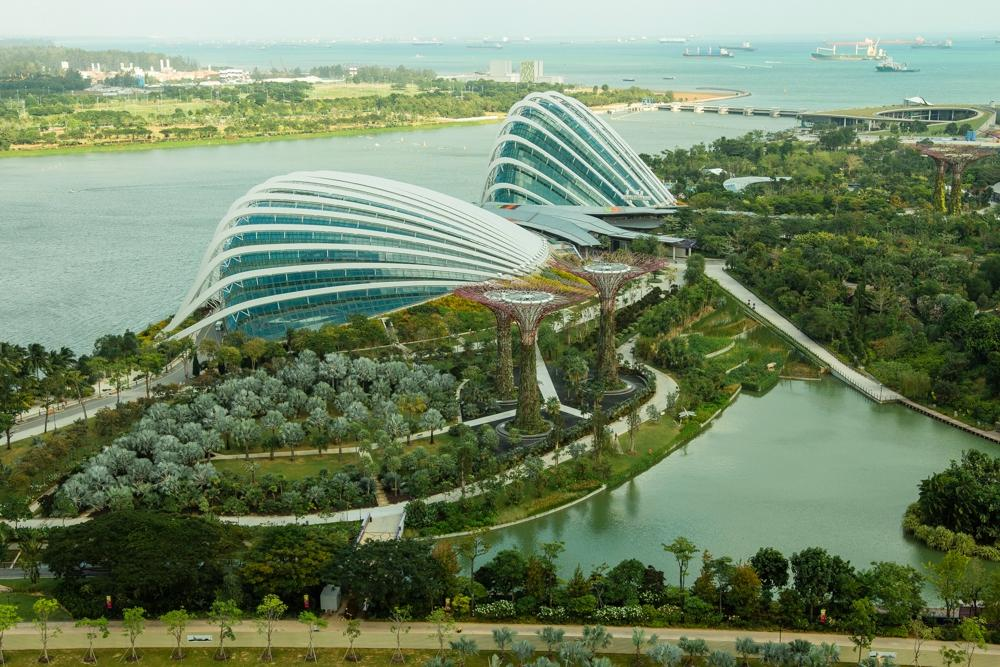 Gardens by the bay singapore all you need to know for Au jardin restaurant singapore botanic gardens