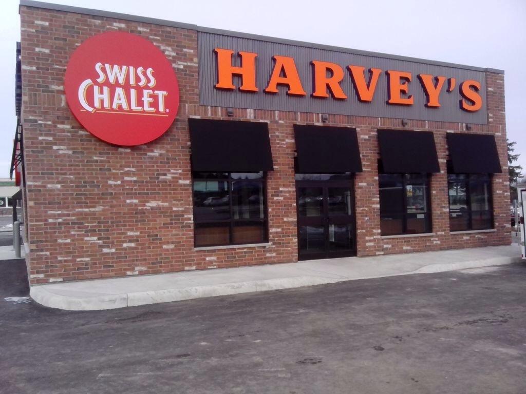 Harveys Serving Swiss Chalet Port Elgin Restaurant