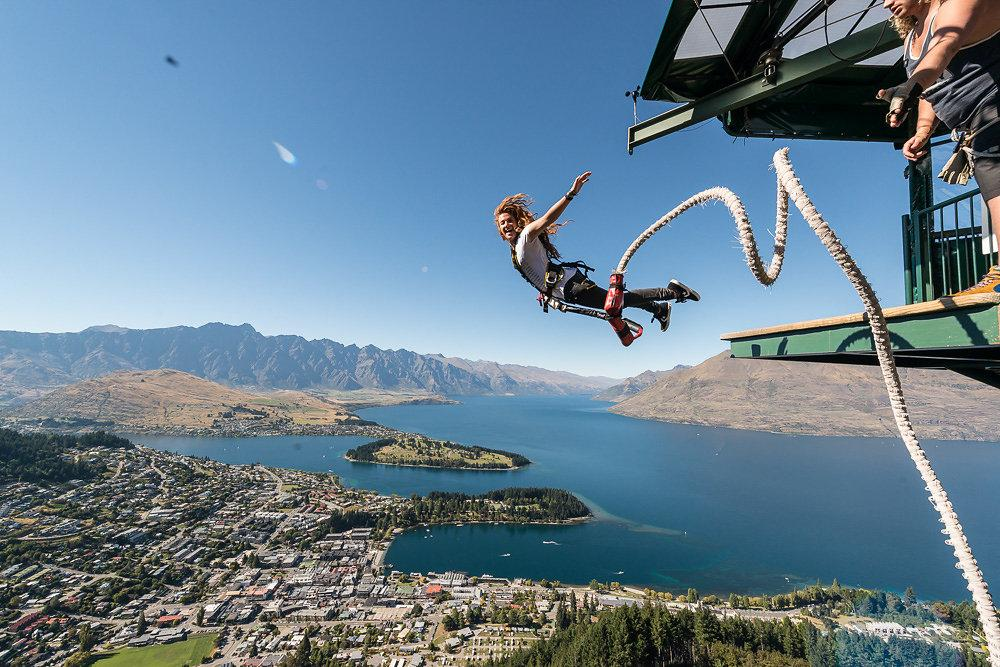 AJ Hackett Bungy New Zealand Queenstown All You Need To Know - Take the plunge 8 best places in the world to bungee jump