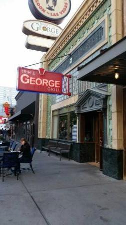 Triple George Grill: Entrance