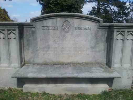Divine's Gravesite, Prospect Hill Cemetary