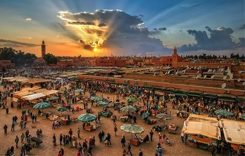 ‪Guide sur Marrakech‬