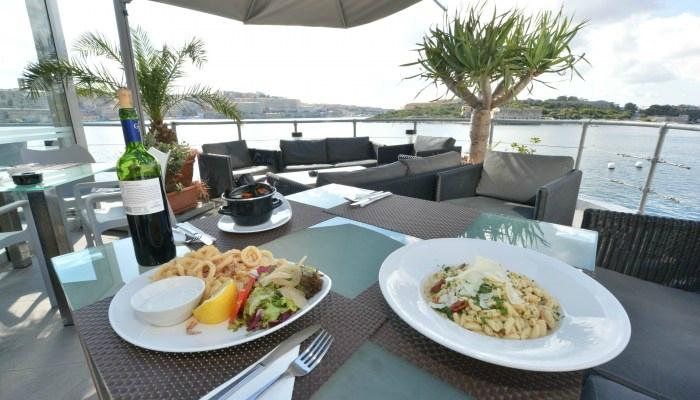 The terrace restaurant sliema restoran yorumlar for The terrace menu