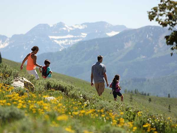 Park City has over 400 miles of hiking trails