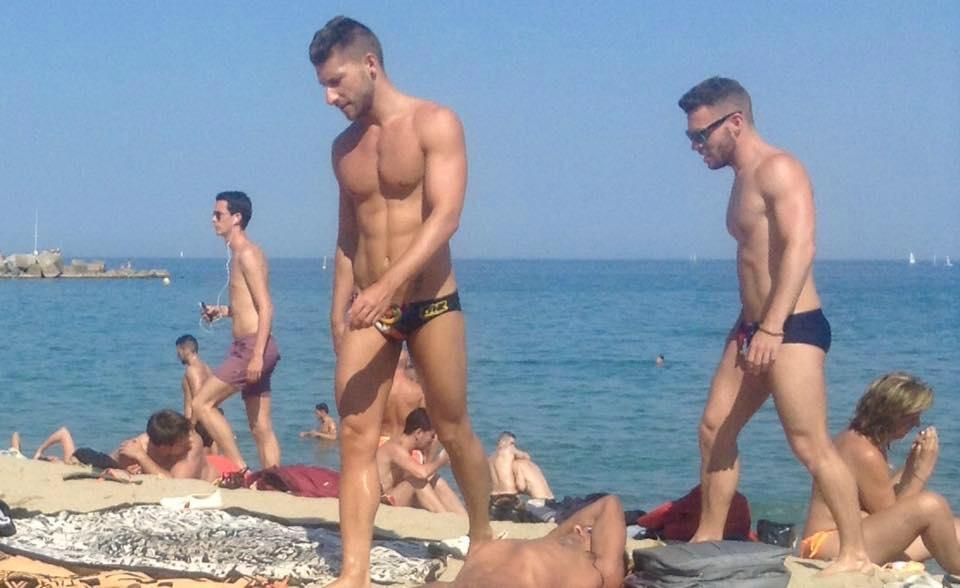 Гей нудистский пляж