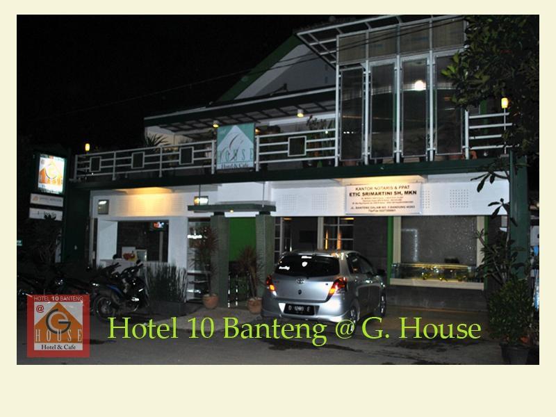 Hotel Sepuluh Banteng at G. House