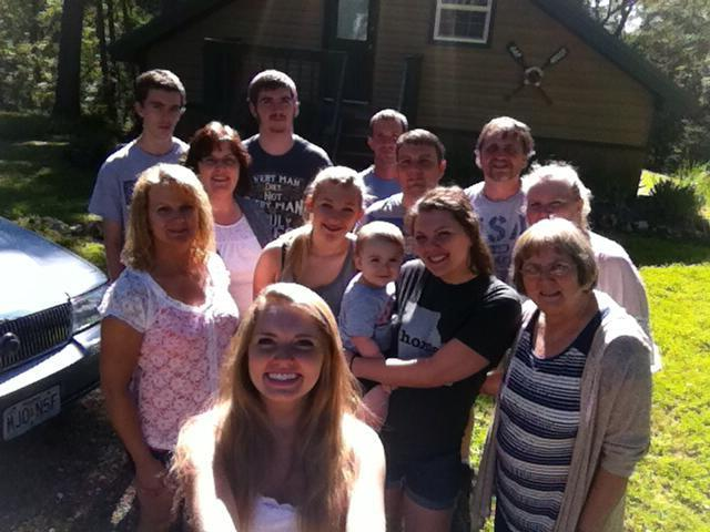 family reunion at the Oar House!