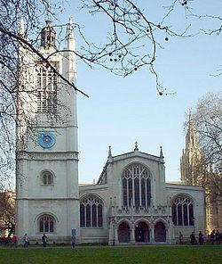 Saint Margaret's Church on Parliament Square