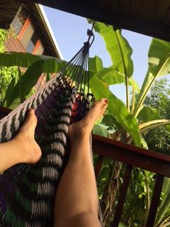 Don't miss the peaceful hammocks!