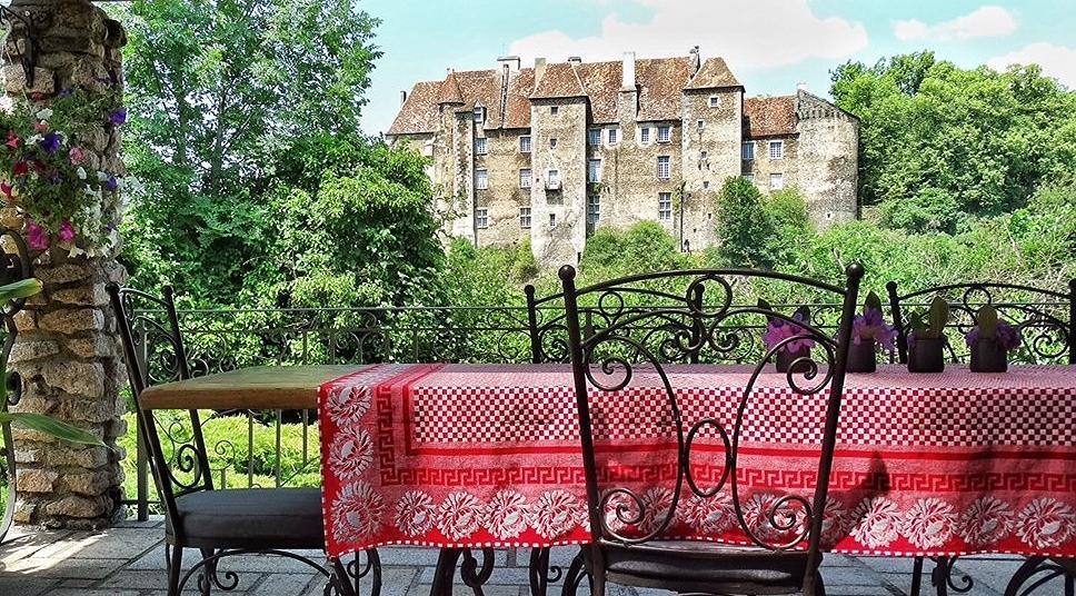Chateau Vue Boussac Chambres d'Hotes