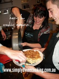 Simply Dvine Cooking Classes
