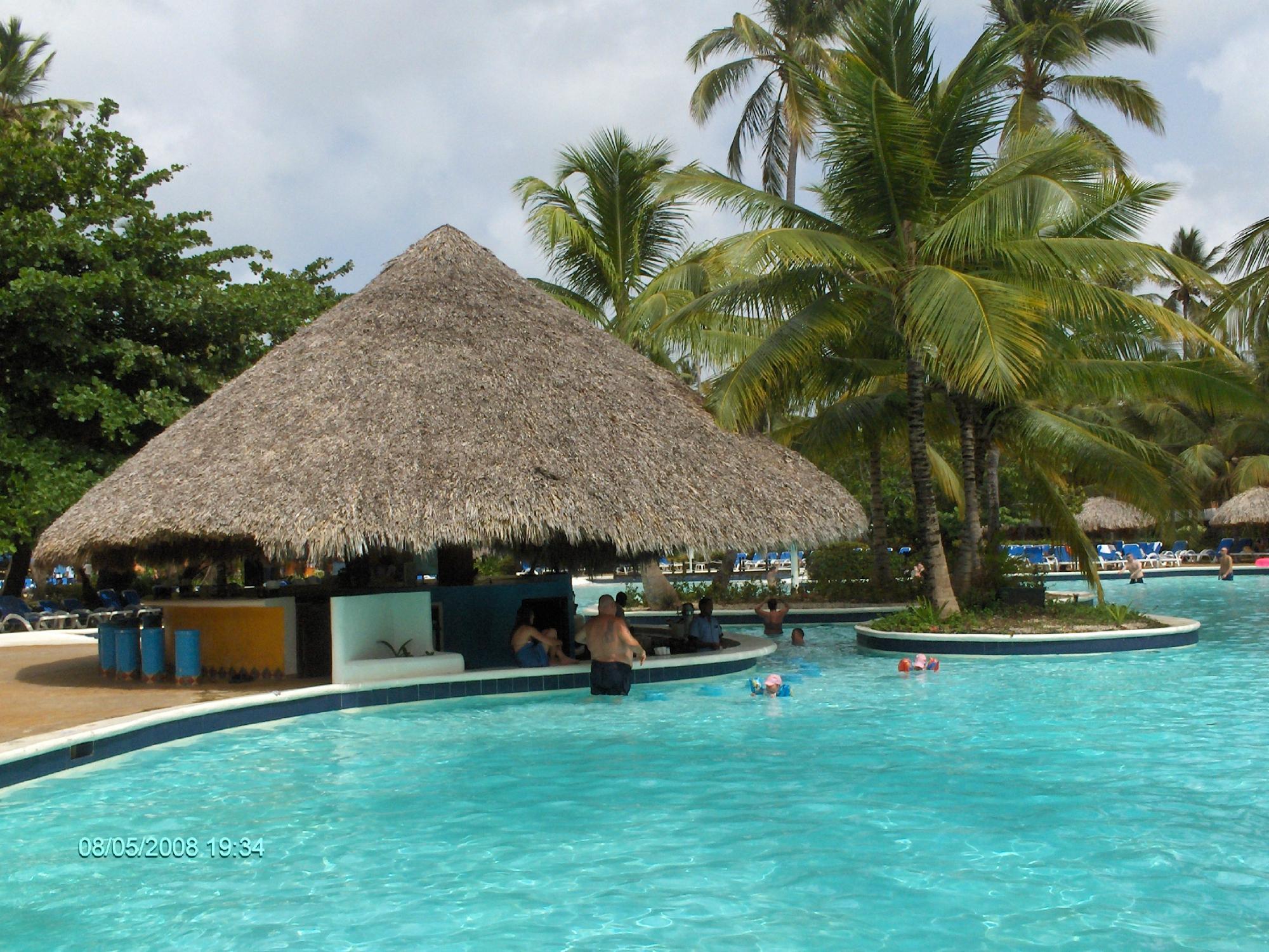 bar d 'une des piscines