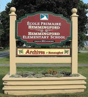 Hemmingford Historical Archives