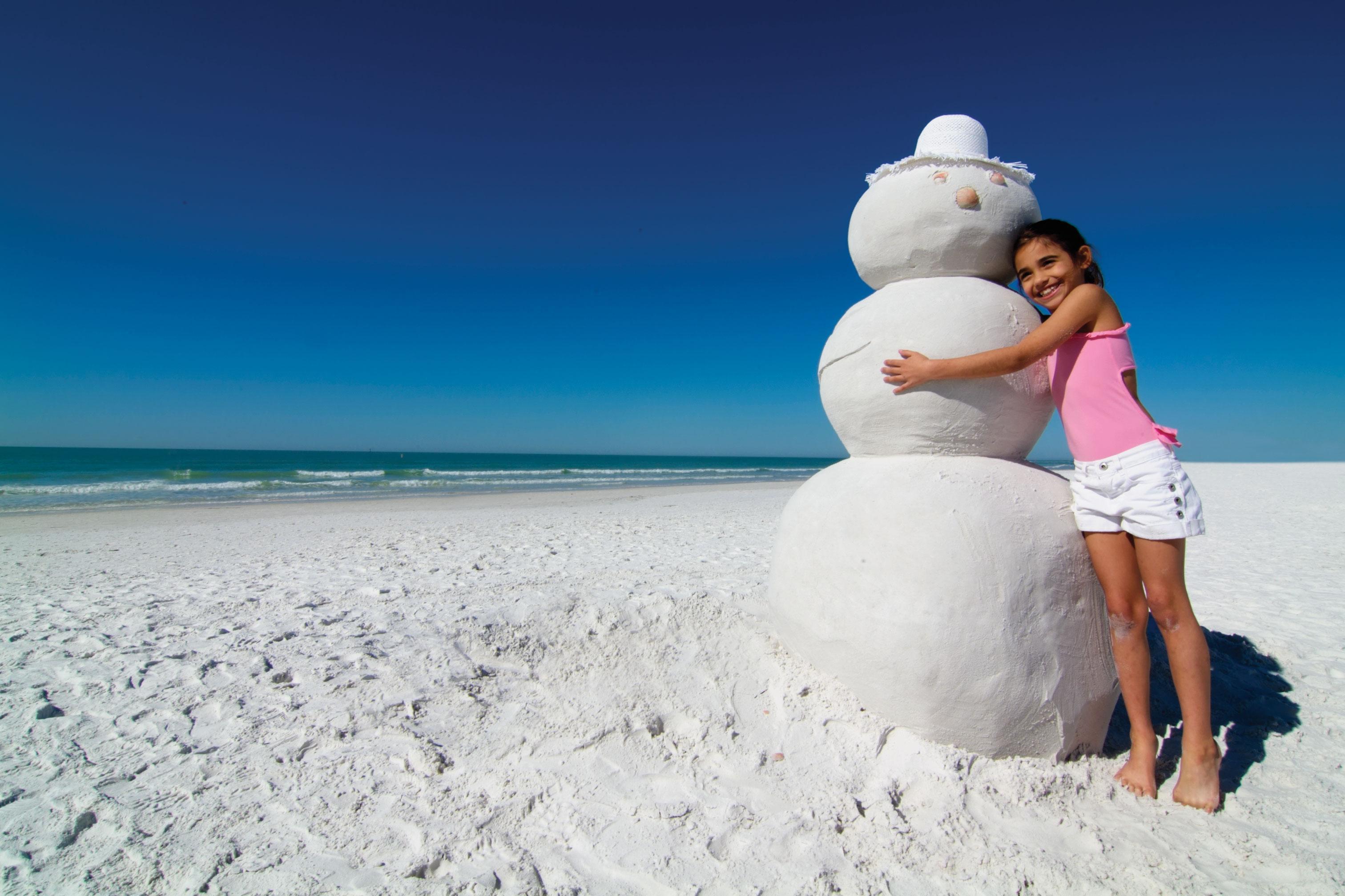 No snow? No problem! Spend the holidays on Siesta Key.