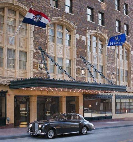 hotel review reviews hilton president kansas city missouri