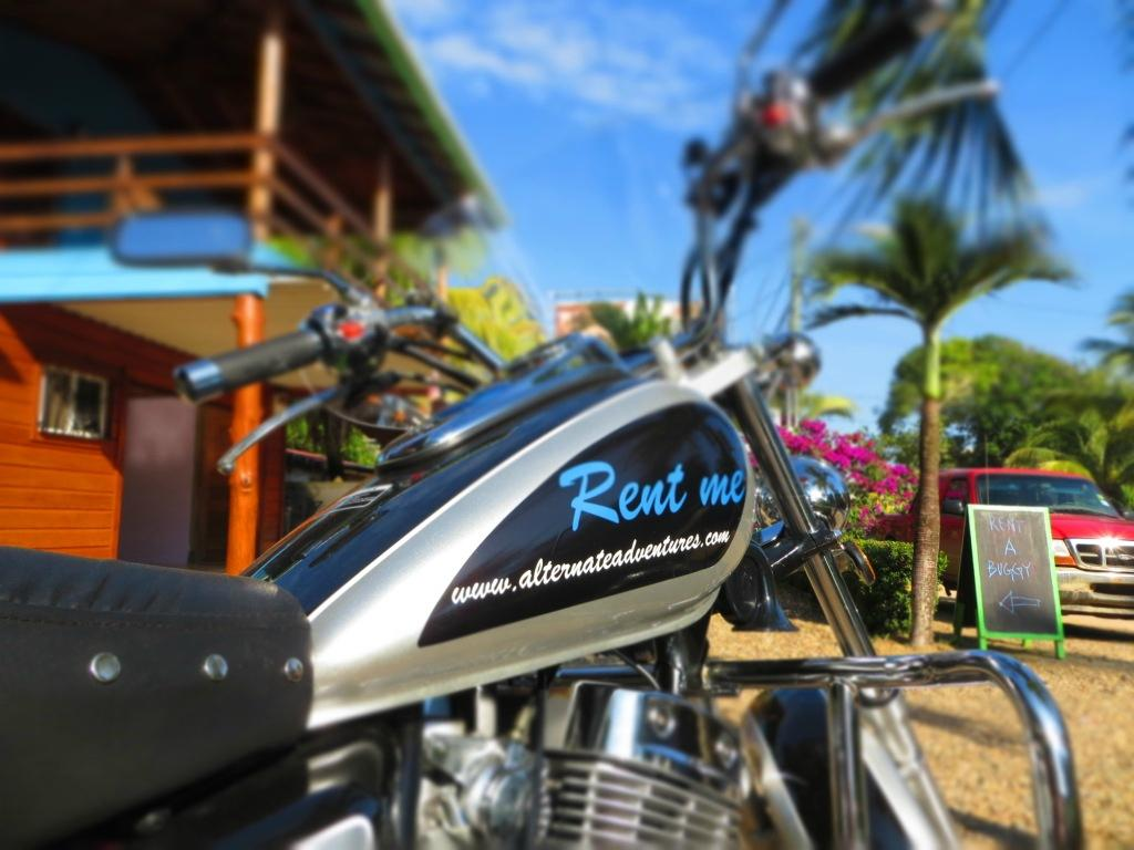 Motorbike Rentals Alternate Adventures Hopkins Belize