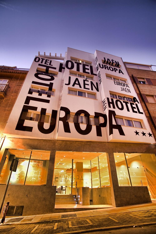 hotel europa en jaen: