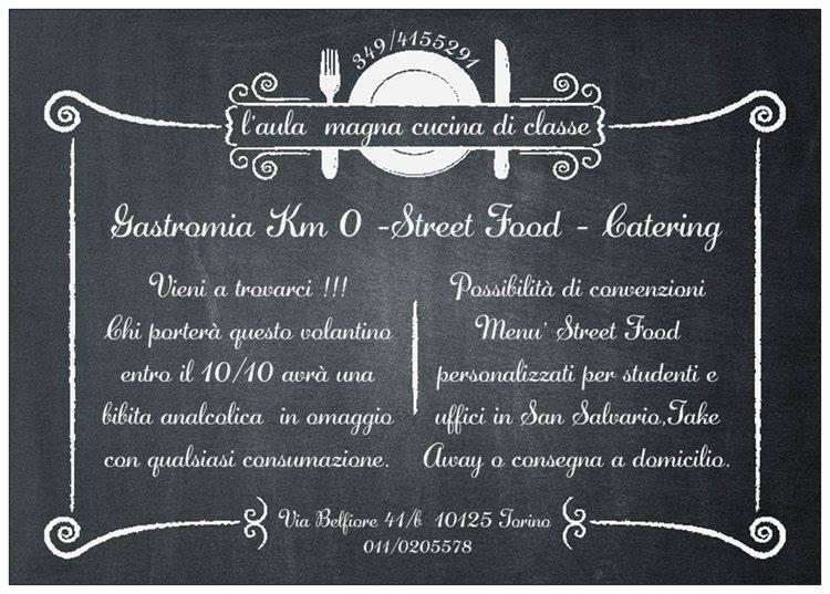 L\'aula Magna Cucina Di Classe, Torino - Ristorante Recensioni ...