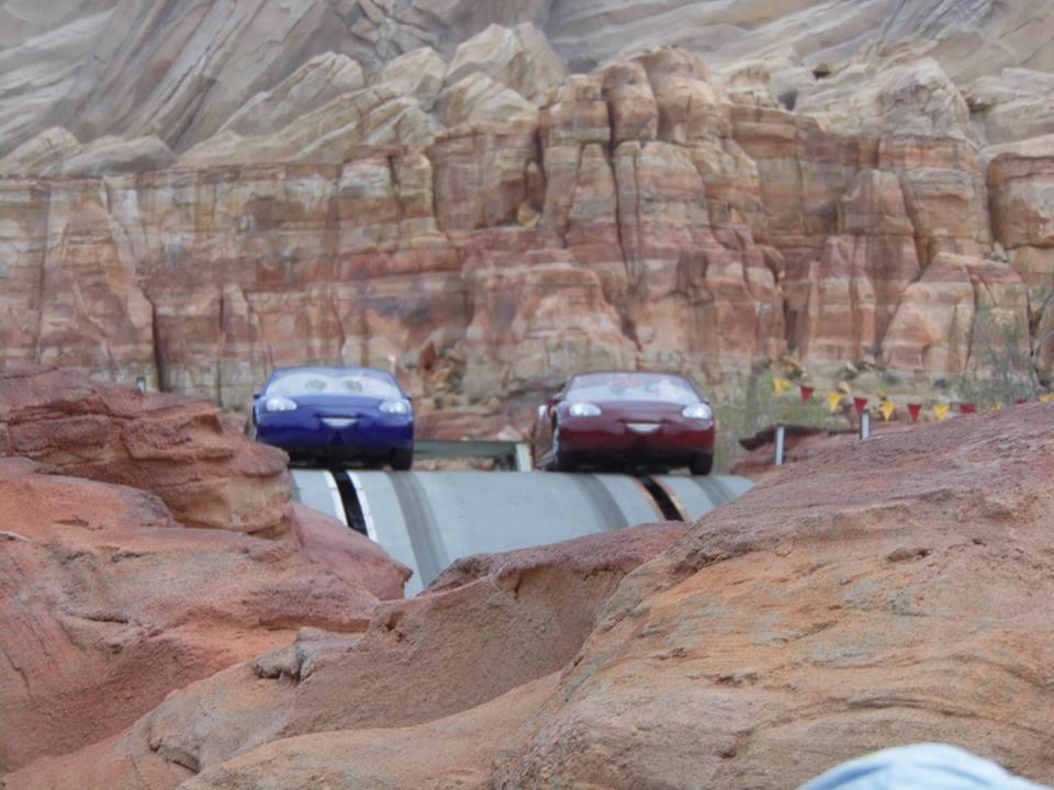 Radiator Springs Racers Disneyland Anaheim California