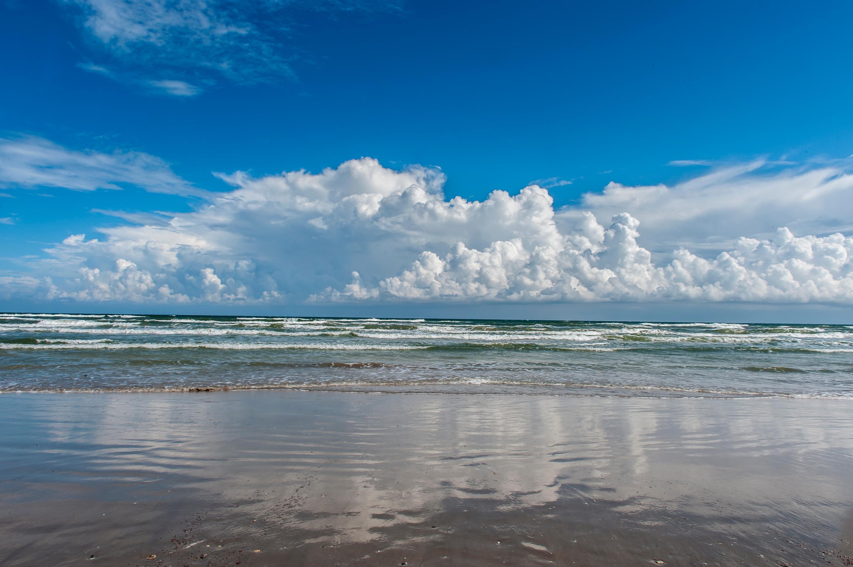 Beach in Port Aransas Texas