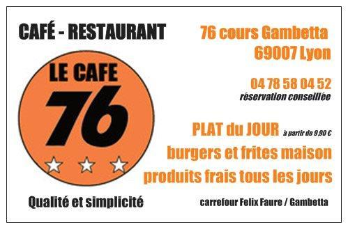 Le Cafe 76
