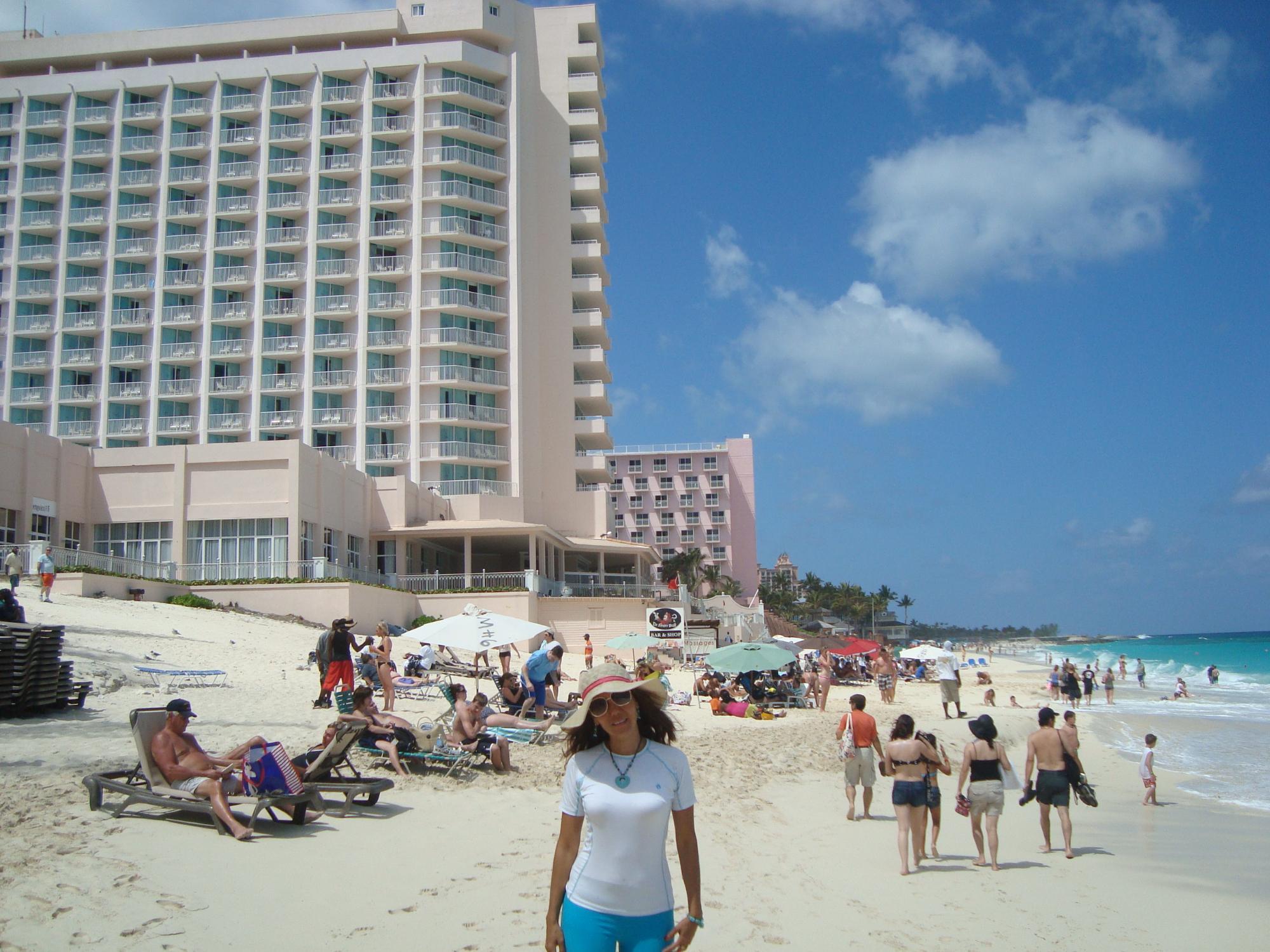 Playa en isla Atlantis