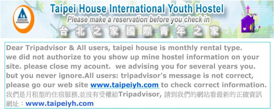 Taipei House International Youth Hostel