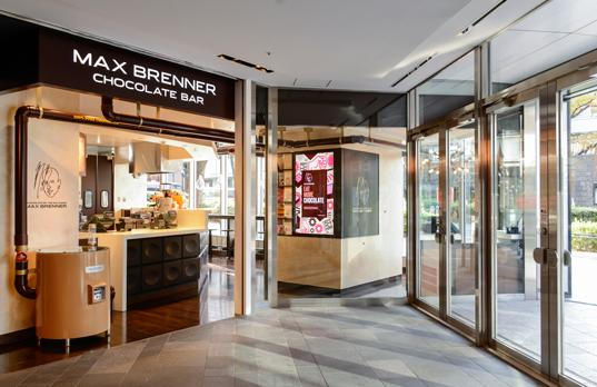 Max Brenner Chocolate Bar, Omotesando Hills