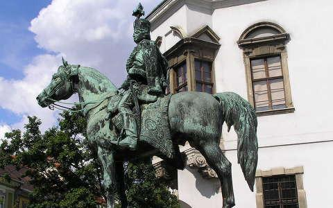 Statue of Mounted András Hadik