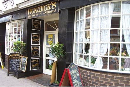 Pickwick's Tea Rooms