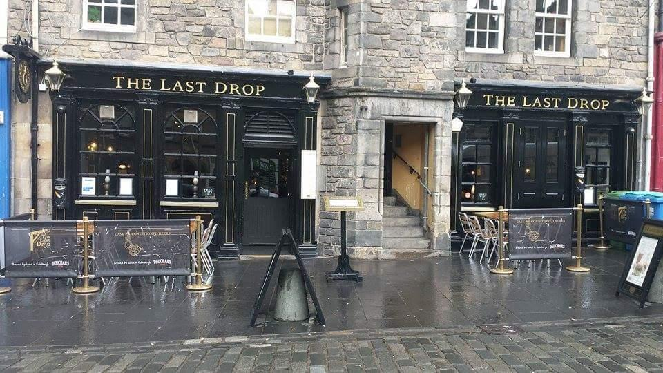 The last drop edinburgh old town restaurant reviews for O kitchen edinburgh menu