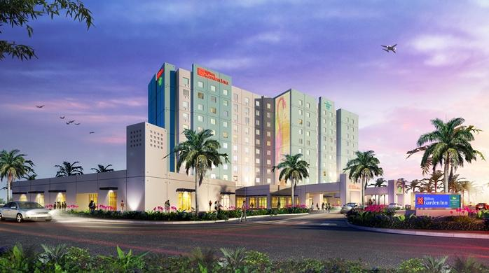 Hilton Garden Inn Miami Dolphin Mall from 122 UPDATED 2017