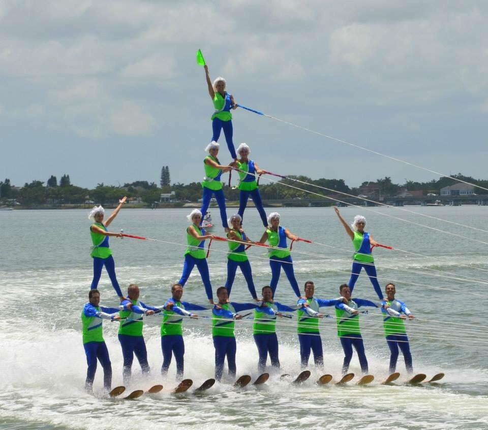 Tampa Bay Water Ski Show Team The