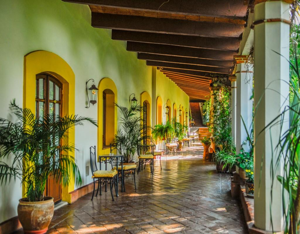 ‪Hotel Hacienda Los Laureles Spa‬
