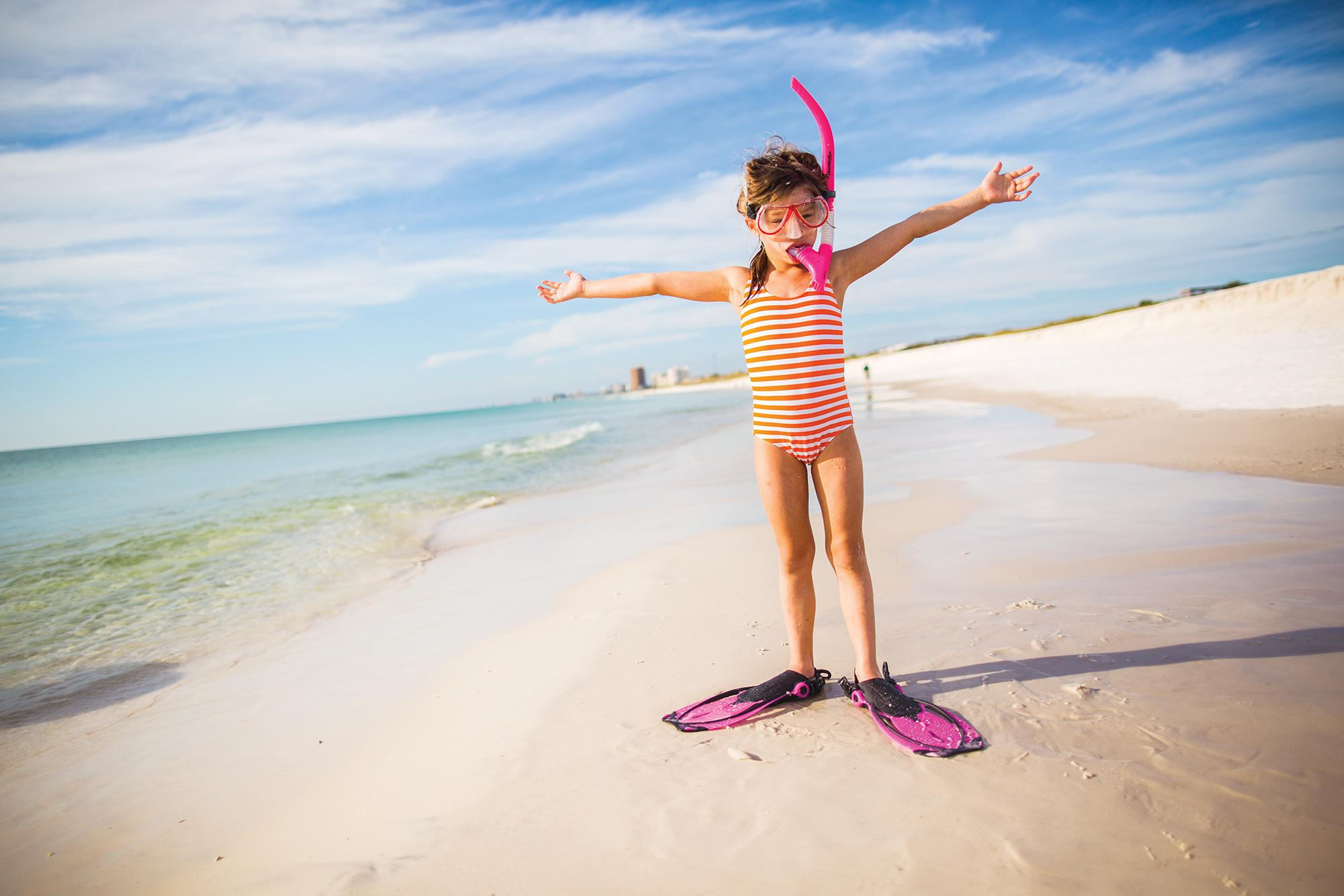 Grab some snorkel gear and check out the underwater world around St. Andrews State Park.