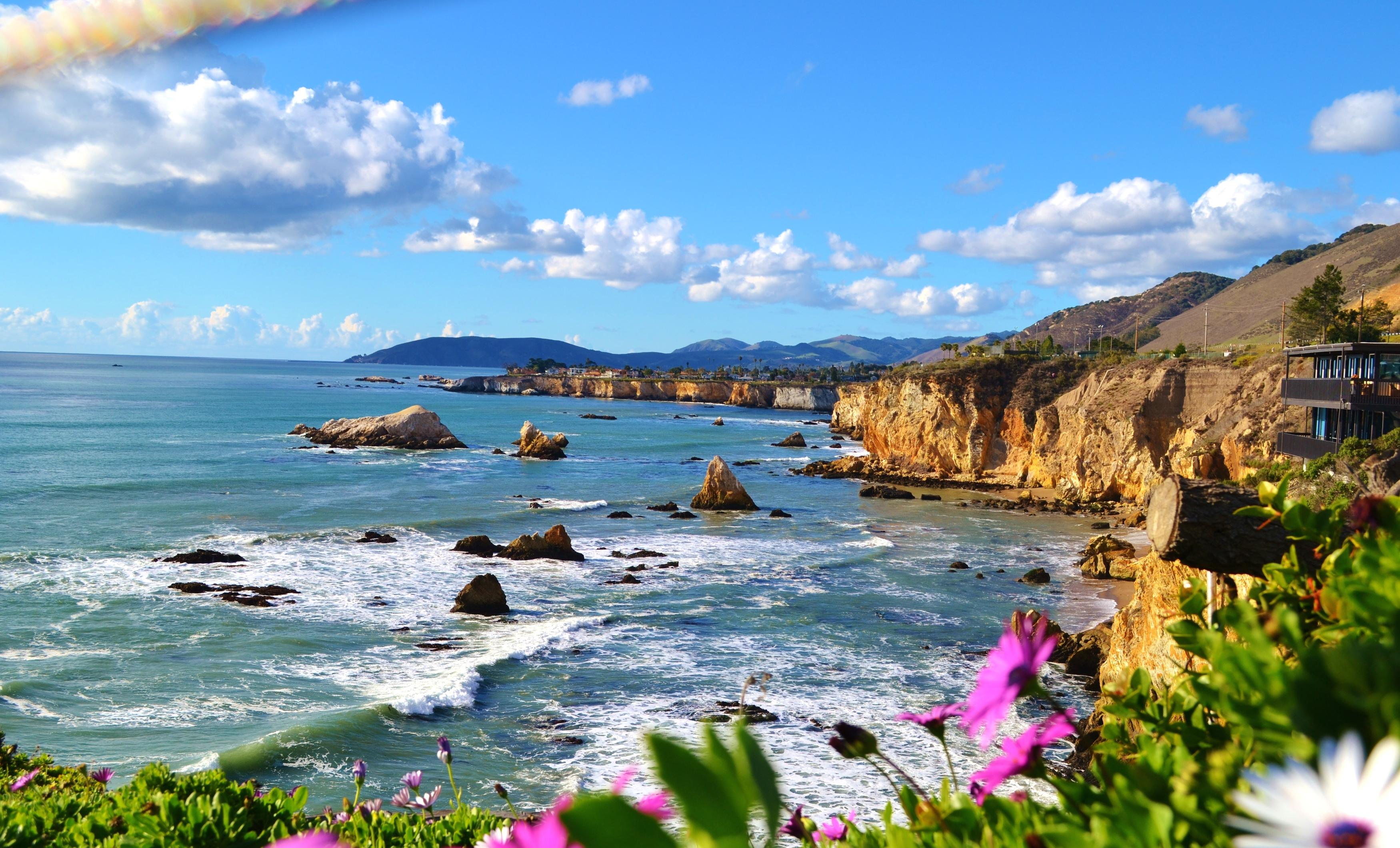 Beautiful Seaside Bluffs