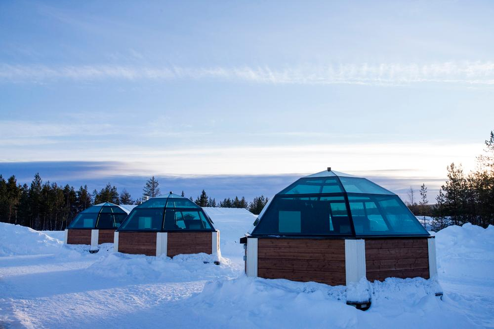 Arctic SnowHotel & Glass Igloos