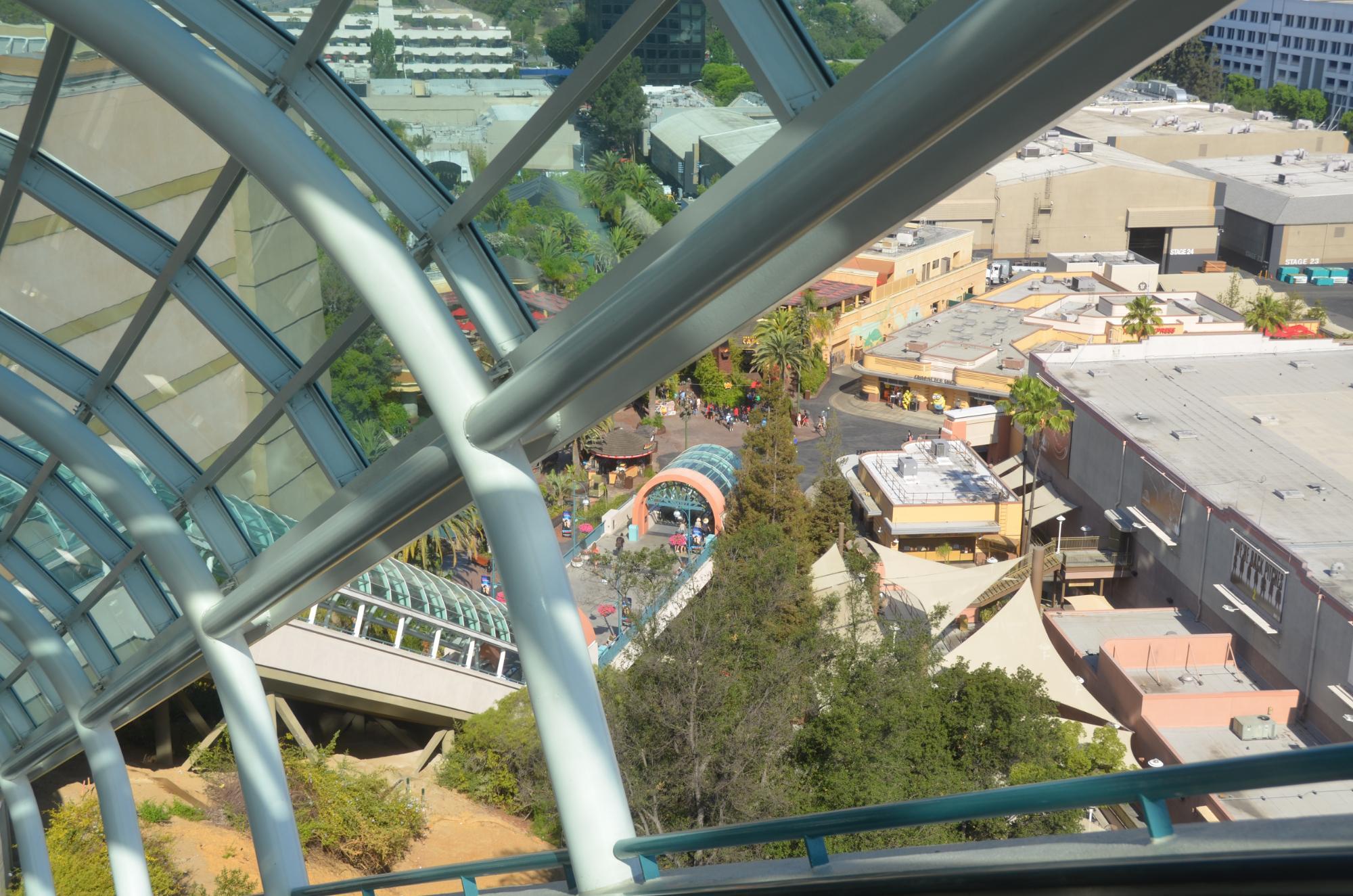 Vista aerea de una de la grandes escaleras...
