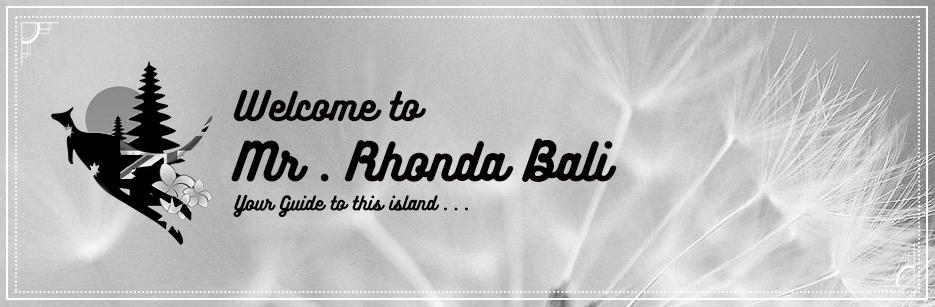 Rhonda Bali Tour