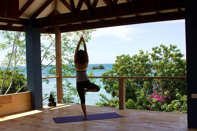 Sankalpa yoga studio true blue grenada omd men for Salon o d ange saint georges des gardes