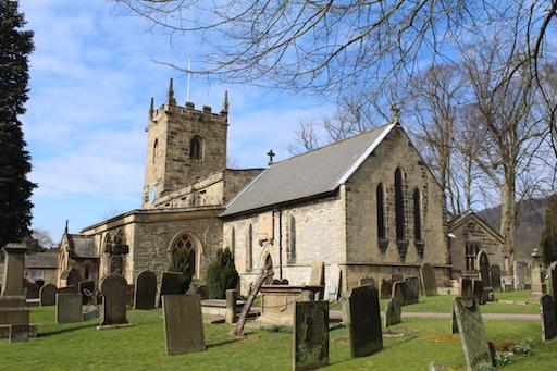 ‪Eyam Parish Church of St Lawrence‬