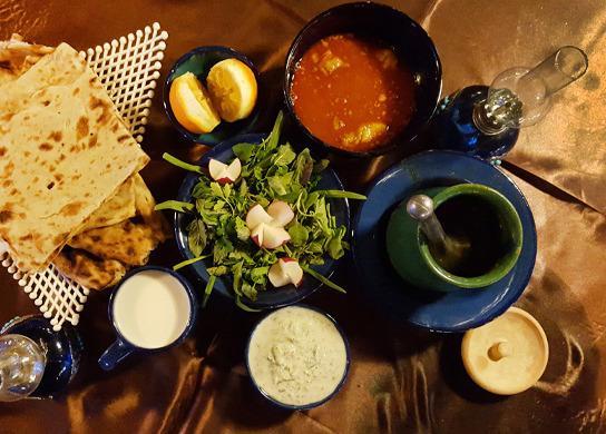 Aria traditional coffee shiraz restaurant reviews for Aria persian cuisine