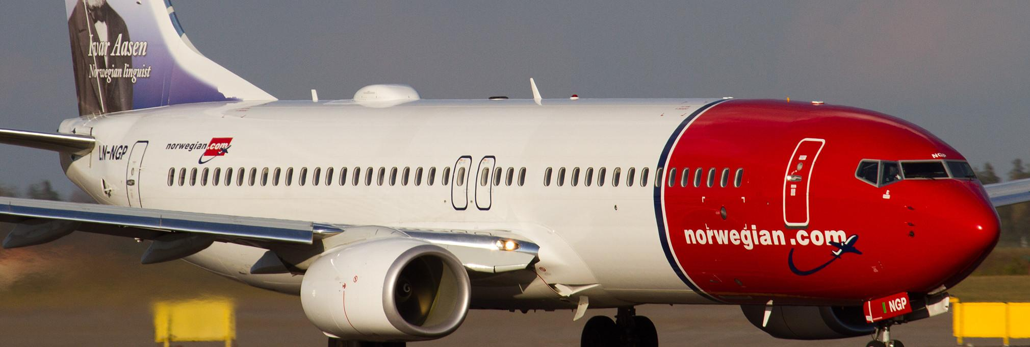 norwegian flygresor se