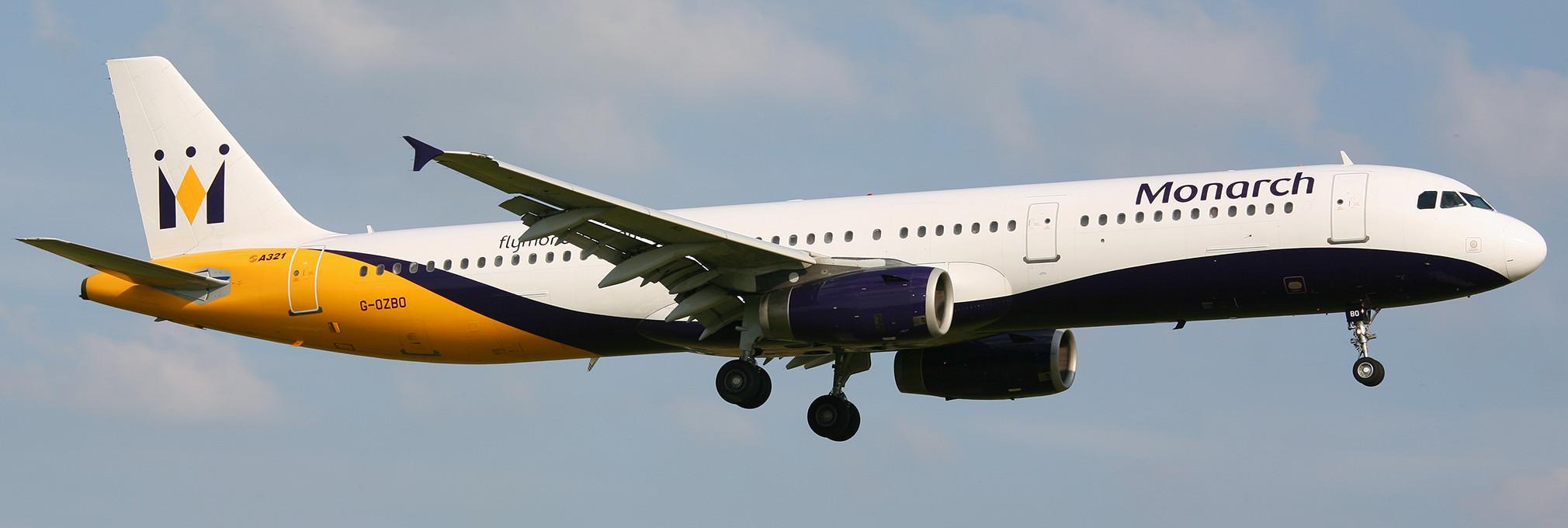 Resultado de imagen para Monarch Airlines