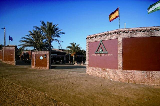 Jardin de las dunas campground reviews tarifa spain for Camping jardin de las dunas tarifa