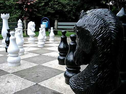 ‪Giant Chess Board‬
