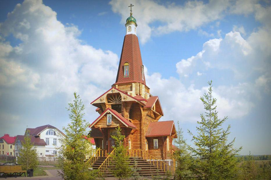 Russia Kemerovo Map%0A Chapel of the Blessed Matrona of Moscow